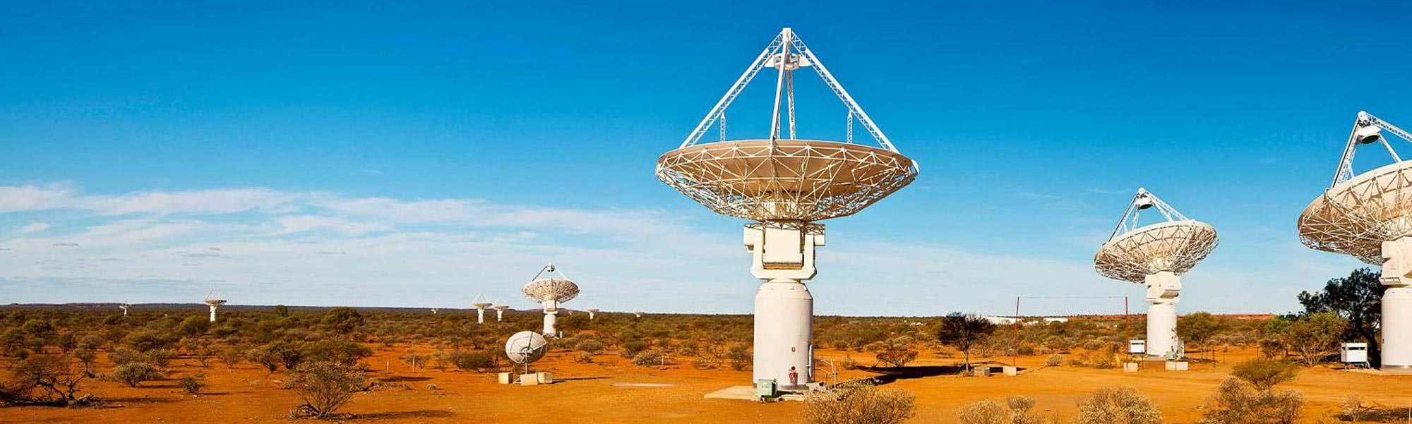 square kilometer array The design principle behind the square kilometre array, the world's most powerful radio telescope, is that size mattersthe telescope will collect radiowaves from space and the more it captures.