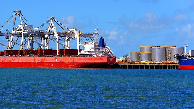 Industrial ships in Queensland