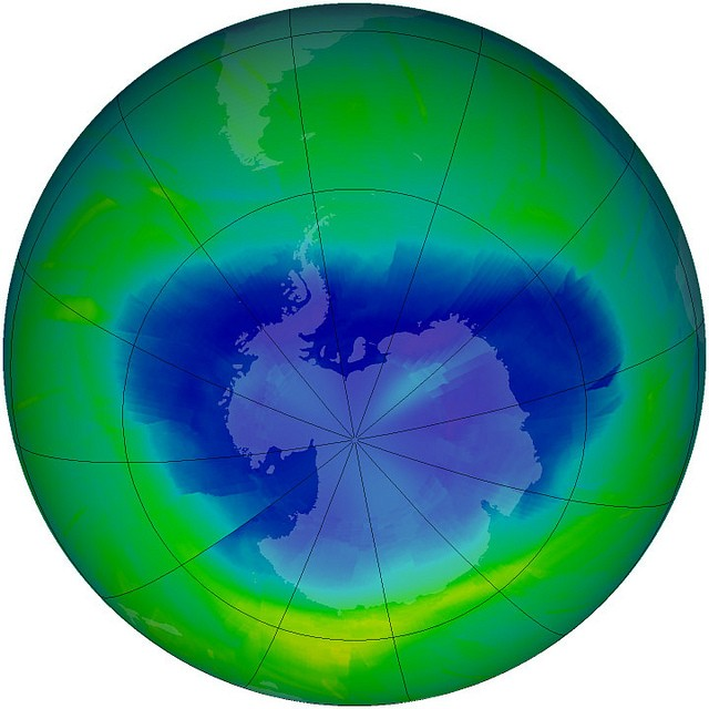 earth s sunscreen the ozone layer curious snapshot of the antarctic ozone hole 2010