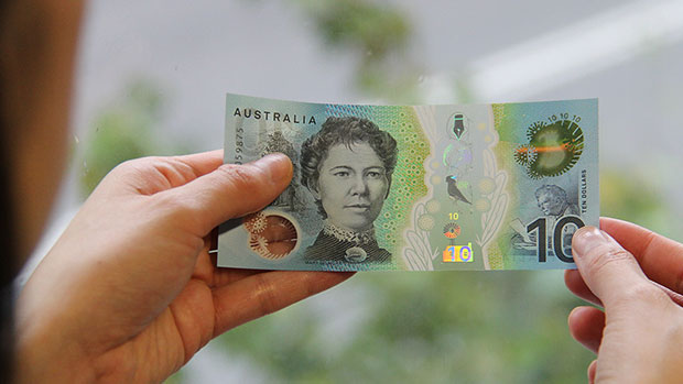 A new Australian bank note.