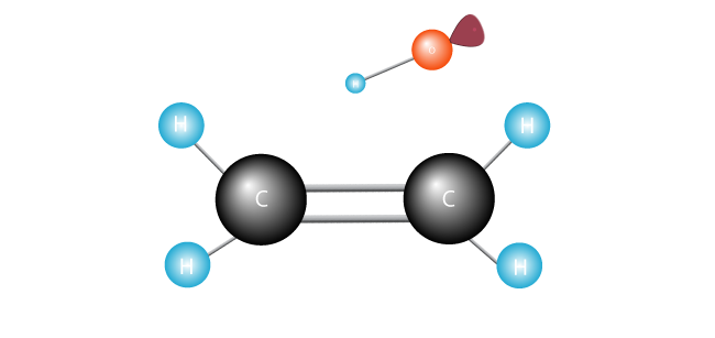 Free radical with unpaired electron