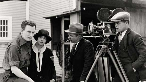 Celluloid- the makings of silent film.