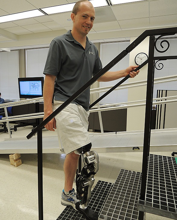 The world's first thought-controlled bionic leg