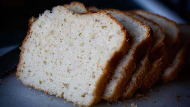 Photograph of a loaf of bread.