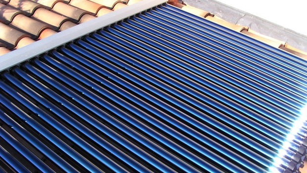A solar thermal collector for hot water