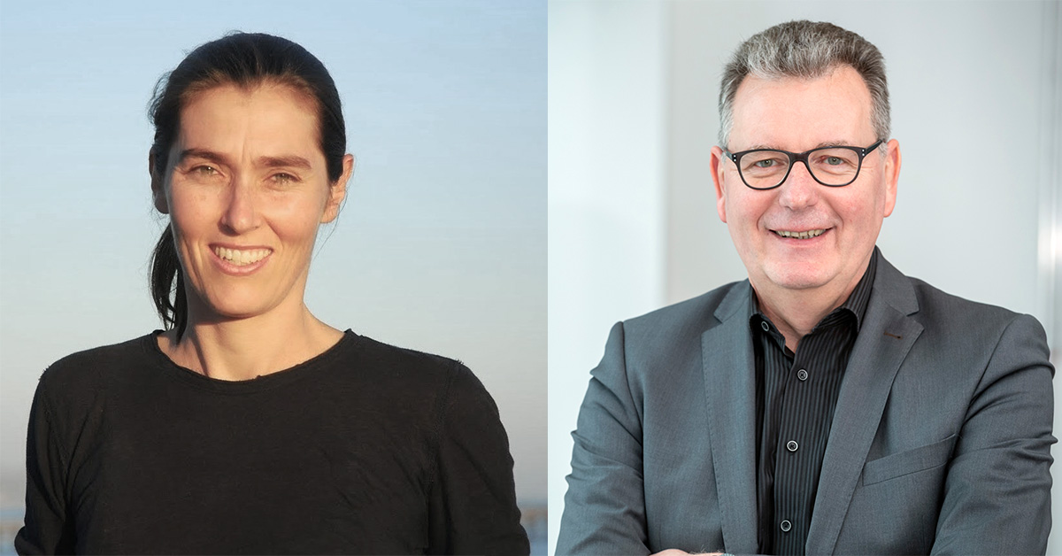 Frew Fellow Professor Ania Bleszynski Jayich, Selby Fellow Professor Matthias Wessling