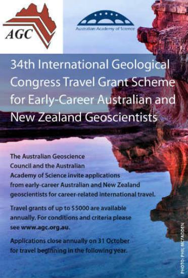International Travel Grants For Geoscientists