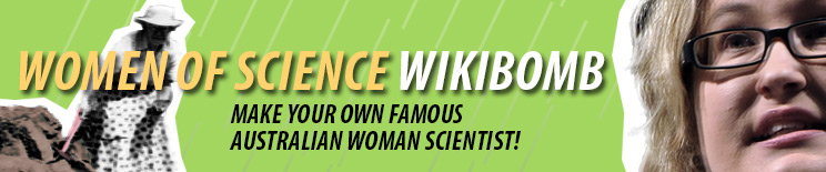 Make your own famous Australian woman scientist
