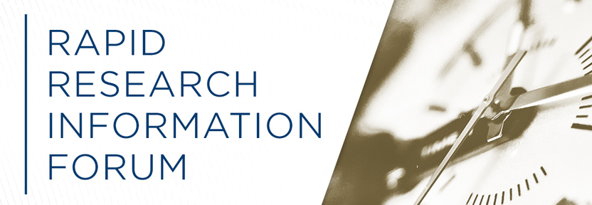 Rapid Research Information Forum