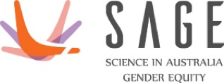 The Science in Australia Gender Equity logo