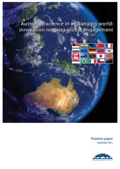 Australian science in a changing world: innovation requires global engagement