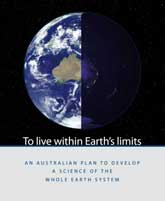 To live within Earth's limits: an Australian plan to develop a science of the whole Earth system