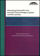 Maximising the benefits from Australia's formal linkages to global scientific activities