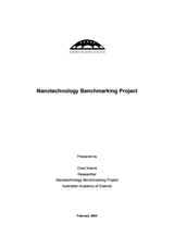 Nanotechnology benchmarking report