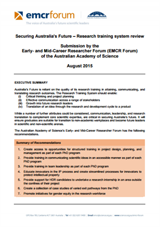Submission—Review of Australia's Research Training System