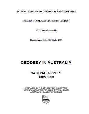 Report—Geodesy in Australia, National Report 1995-1999