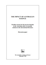 Report—The impact of Australian science