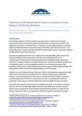 Submission—Industry Innovation Precincts Consultation Framework Paper