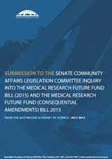 Submission—Senate Community Affairs Legislation Committee Inquiry into the Medical Research Future Fund Bill 2015 and the Medical Research Future Fund (Consequential Amendments) Bill 2015