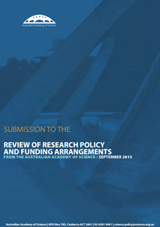 Submission to the review of research policy and funding arrangements (Watt Review)