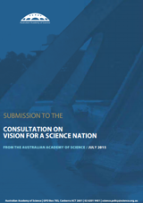 Academy submission—Consultation on Vision for a Science Nation